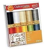 Gütermann Creativ 10 carretes de 100% algodón