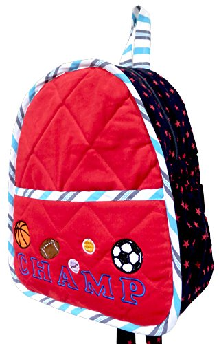 Little Pipal Champ Backpack Red Toddler