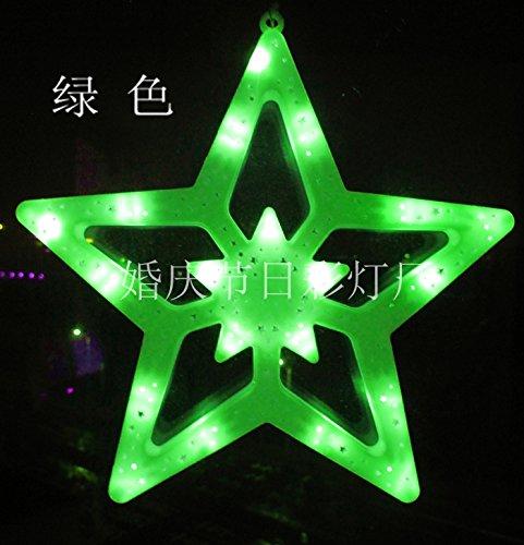 LED extra grandes estrellas cadena linternas Lámparas