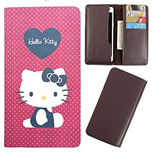 DooDa - For Lava Xolo q1000 / A1000 PU Leather Designer Fashionable Fancy Case Cover Pouch With Card & Cash Slots & Smooth Inner Velvet