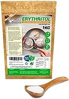 Eritritol 100% Natural Envase Ecologico 1Kg Edulcorante 0 Calorias | Ideal para Reposteria, y Dietas |Edulcorantes...