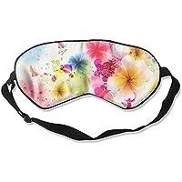 Comfortable Sleep Eyes Masks Abstract Flowers Printed Sleeping Mask For Travelling, Night Noon Nap, Mediation... preisvergleich bei billige-tabletten.eu