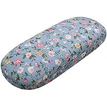 Charminer rentabilität floral sonnenbrille schwer brillen fall eyewear beschützer box beutel tasche hellblau