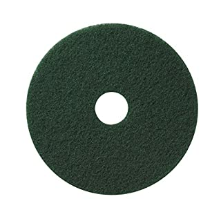 Americo Manufacturing Americo 400314 Green Floor Scrubbing Pad Inch, 5 Per Pack (Made in USA), 14