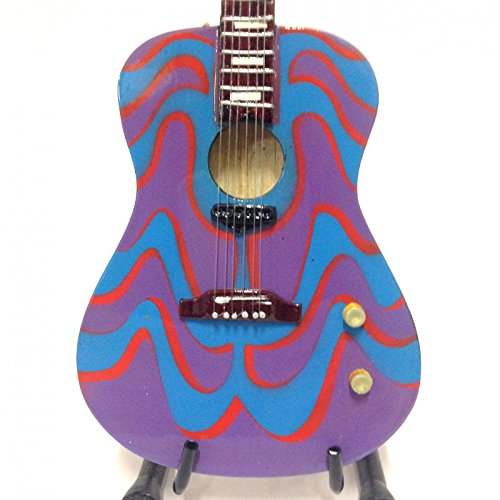 GIBSON ACCOUSTIC THE PSYCHEDELIC BEATLES MINIATURE GUITAR
