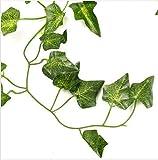 PANGUN 5 Typen 2.1 M 1 Stk Kunstseide Fake Garten Hanging Pflanze Rebe Hochzeit Dekor-E