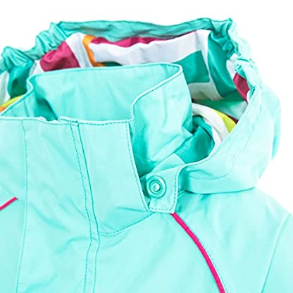 Trespass Kids' Lunaria Waterproof Rain/Outdoor Jacket 6