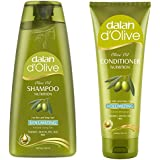 Dalan d'Olive Combo - Volumizing Shampoo (400 ml) & Conditioner (200 ml)