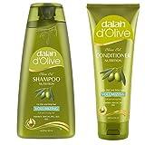 Dalan d'Olive Combo - Volumizing Shampoo (400 ml) & Conditioner (200 ml)