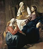 Jan Vermeer – Christ in the House of Martha and Mary 1655-1656 Jan Vermeer (1632-1675/ Dutch) Oil on Canvas National G