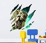CczxfccNew Jurassic Wall Sticker Park Dinosauri Camera Dei Bambini Camera Da Letto Stereo Home Decor Stickers Murali Adesivi Murali Sfondo Muro