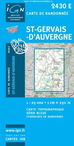 St-Gervais D'Auvergne GPS