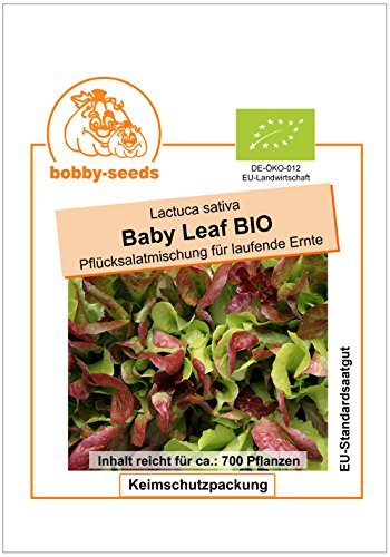 Bobby-Seeds BIO-Salatsamen Baby Leaf Portion