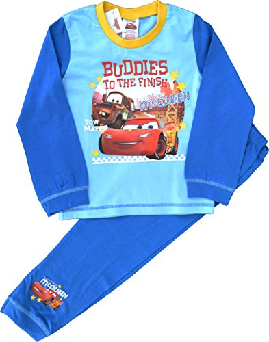 Image of Boys Disney Cars Lightning McQueen Long Pyjamas Size 18-24 Months
