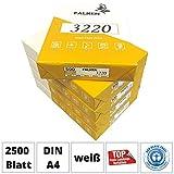 Falken Kopierpapier 3220 DIN A4 weiß 2500 Blatt