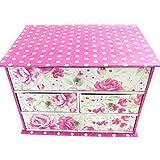 Jewelry box 'Belle Epoque' beige pink.