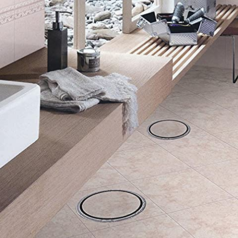 CAC Piastrella Inserire Round rifiuti pavimento griglie