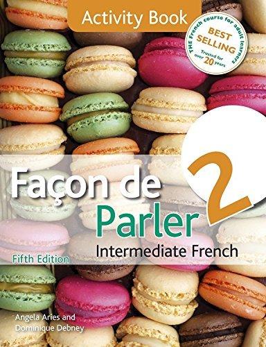 Facon de Parler 2 Activity Book 5ED by Angela Aries (2013-06-28)