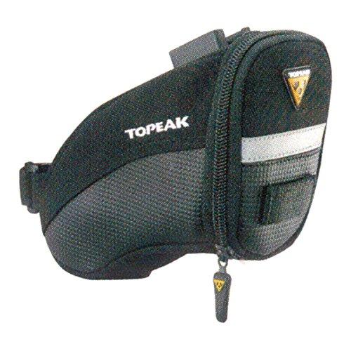 TOPEAK Unisex Aero Wedge Pack Satteltasche mit Fixer F25 black