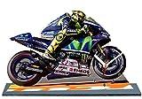VALENTINO ROSSI MOTO GP YAMAHA 2015 EN HORLOGE MINIATURE 08
