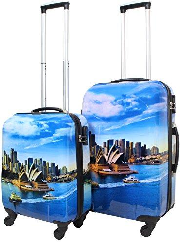 Normani ABS Hartschalen Kofferset, 2 Teilig, 68 cm, Sydney