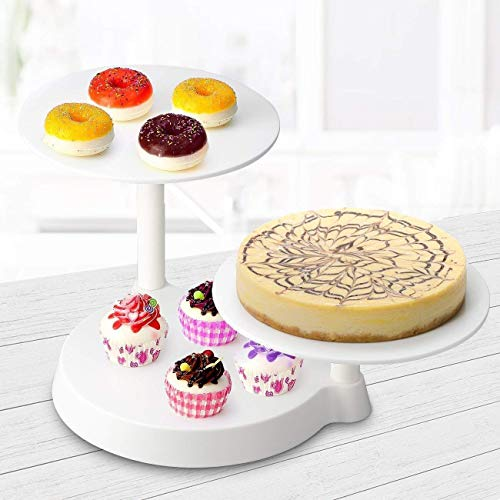 PetHot 3 Tiers Cake Decorate Display Stand Cake display stand Three-layer decorative display stand Decorated birthday party