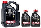 Motul Specific MB 229.52 5W-30 olio motore completamente sintetico per auto - Service Pack: 7 litri