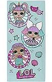 L.O.L. Surprise ! Asciugamano Bambina Telo da Spiaggia Teli Mare Asciugamani Bagno 100% Cotone Merbaby Diva Unicorn LOL Doll