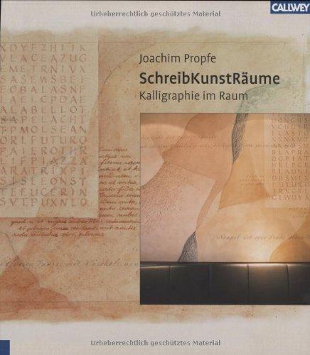 SchreibKunstRäume - Kalligraphie im Raum