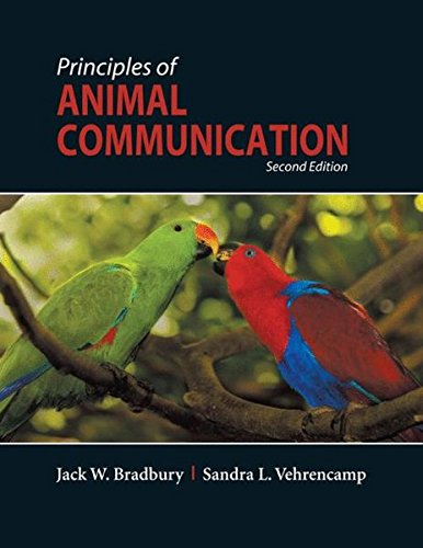 Principles of Animal Communication por Jack W. Bradbury
