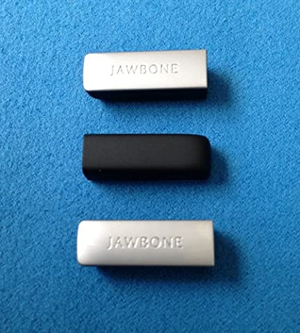 3pcs Onyx Replacement End Caps Covers for Jawbone UP24 UP-24 Bracelet Band Wristband Wrist Band Armband Caps Dust Protectors Black (not for the 1st or 2nd Gen) - Cap Gen 2 Lp