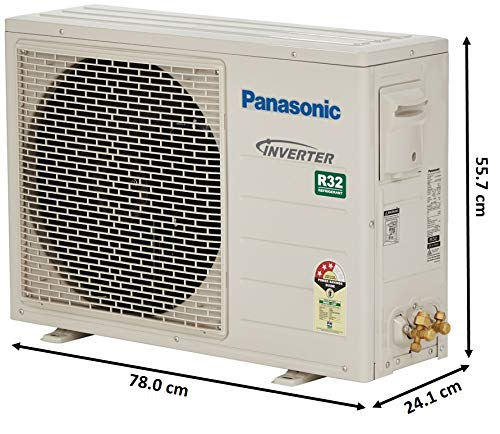 Panasonic 1 Ton 3 Star Inverter Split AC (Copper, CS/CU-SU12VKYW, White)