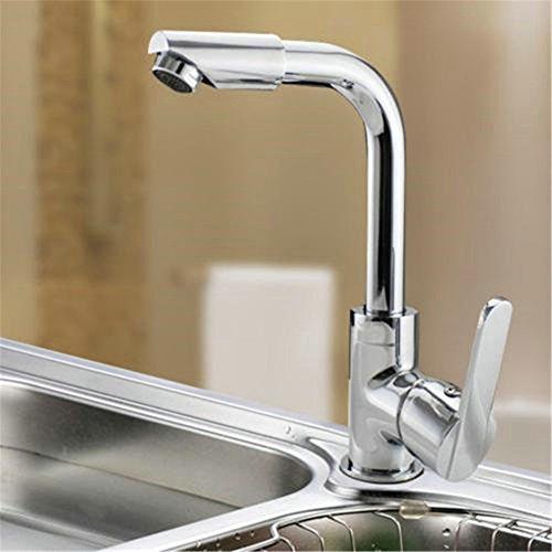 Retro Deluxe Calidad FaucetingGood Kitchen Sink Faucet Cascada Aleación De  Zinc Cromado Stainless Stain Grifos De