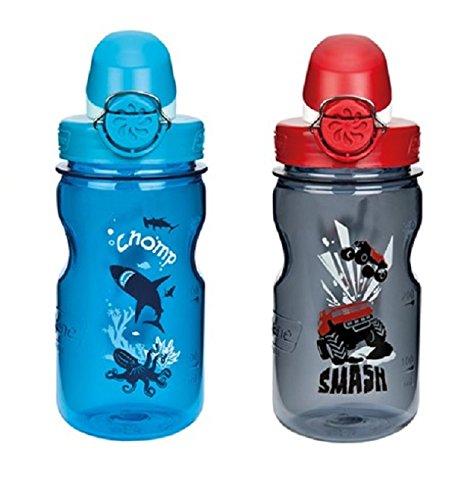 Nalgene - Everyday OTF Kids - Trinkflasche Gr 0,35 l blau/türkis