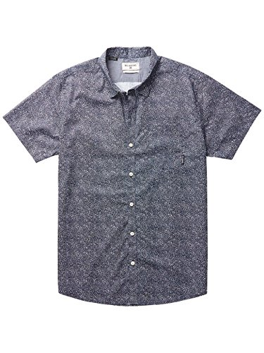 Herren Hemd kurz Billabong Dark Sunrise Hemd Navy