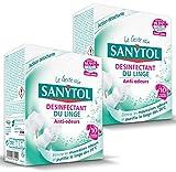 Sanytol 33636100 Desinfectant Linge anti-odeurs Tablettes x 10 - lot de 2