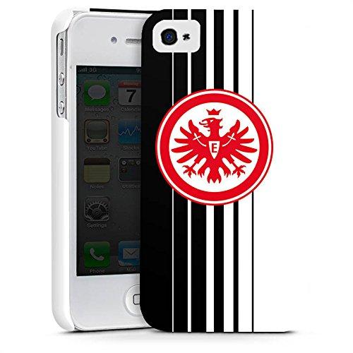 Apple iPhone X Silikon Hülle Case Schutzhülle Eintracht Frankfurt Fanartikel Fußball SGE Premium Case glänzend
