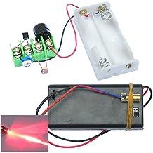 Rishil World DIY Infrared Laser Aiming Anti-Theft Burglar Alarm Module Kit