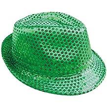 90f461998ae4f P  tit payaso sombrero tejido lentejuelas adulto – Borsalino