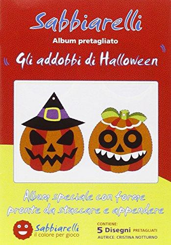 Sabbiarelli Album Die Dekorationen von Halloween
