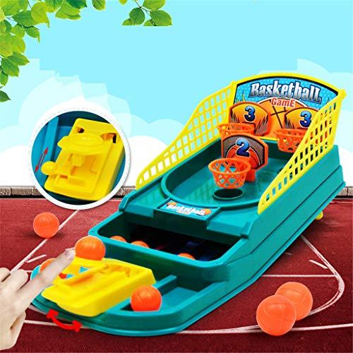 Fcostume Basketball-Schießspiel Desktop Tabelle Reduzieren Sie Stress Set Sport Spielzeug für Erwachsene (As Shown)