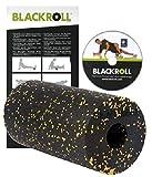BLACKROLL KOMPLETT-SET-PLUS (6-teilig) inkl. Blackroll Standard Schwarz/Gelb und DVD mit vielen Übungsanleitungen + Blackroll MINI + Ball 8 cm + Ball 12 cm + DuoBall 8 cm + Sportbeutel