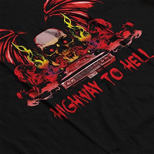 Supernatural Highway To Hell Women's Vest Black