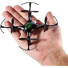 Mini RC Quadcopter, FPVRC K8 2.4G 4 CH Nano Drone con modo Headless, RTF RC Helicóptero (Negro)