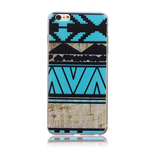 ZeWoo TPU Schutzhülle - BF012 / Mädchen und Baum - für Apple iPhone 6 (4,7 Zoll) Silikon Hülle Case Cover Silikon Hülle Case Cover BF009 / MiraCal Landschaft