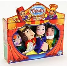 Mon théâtre et mes 4 marionnettes Blanche-neige - 113898A