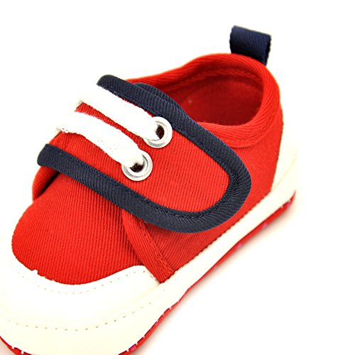 leap frog  Sports Sneakers, Baby Mädchen Lauflernschuhe Rot