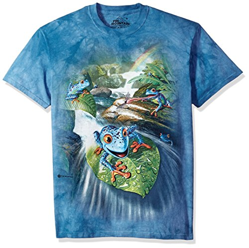 The Mountain Herren Frog Capades T-Shirt, blau, XX-Large