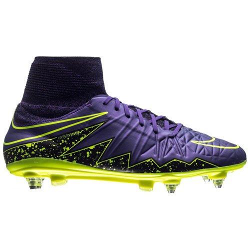 Nike Hypervenom Phatal II DF SG-Pro, Chaussures de Football Homme Multicolore (Purple)