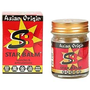 Asian Origin Star Balm Baume Rouge 25 g